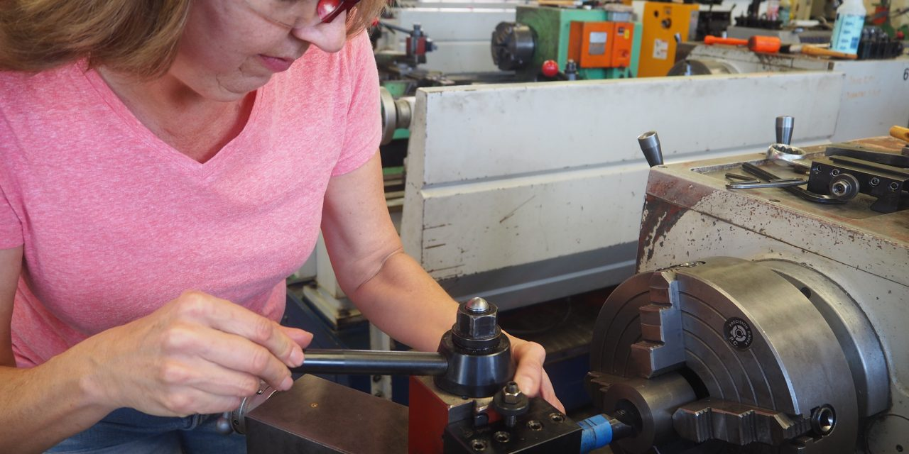 Laney Student Rekindles Passion for Machining