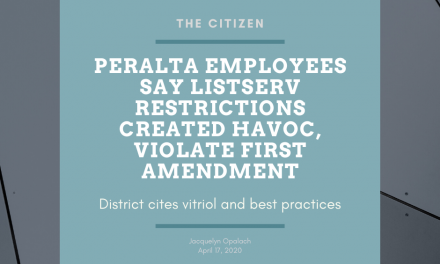 Peralta employees say listserv restrictions created havoc, violate First Amendment