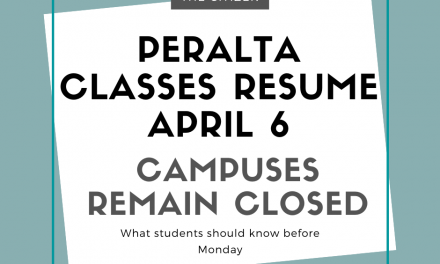 Peralta classes resume April 6, campuses remain closed