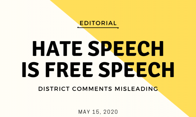 Hate speech is free speech, whether we like it or not