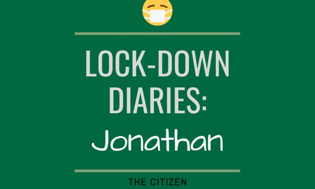 Lock-down Diaries: Jonathan