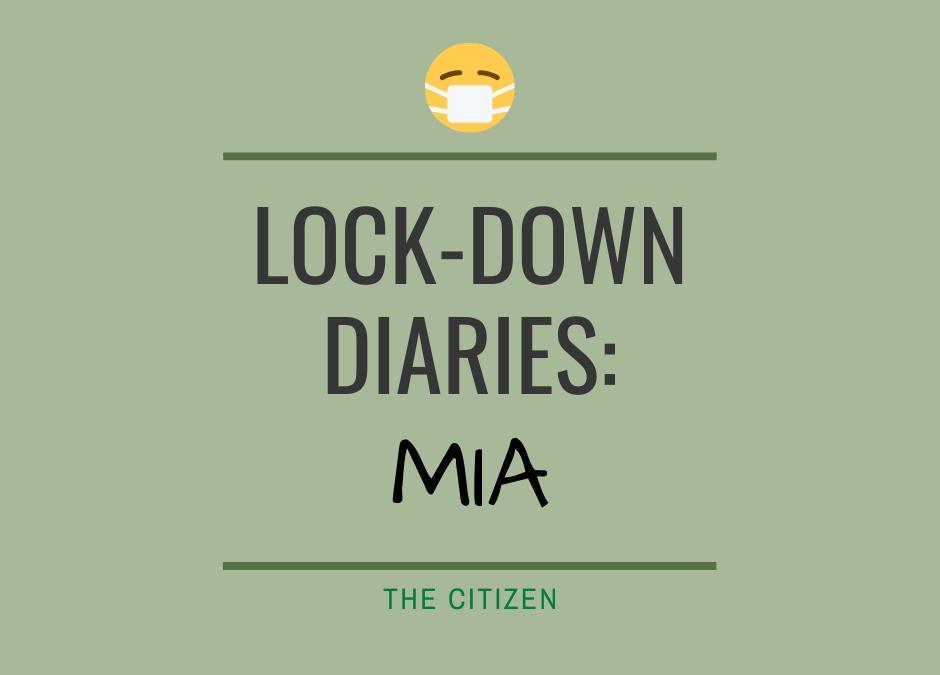 Lock-down Diaries: Mia