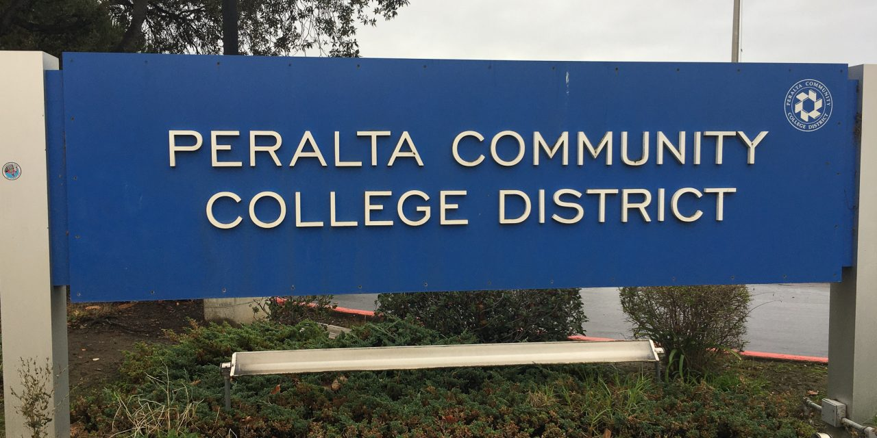 Peralta spring 2021 semester officially remote