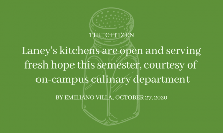 Laney's kitchens are open and serving fresh hope this semester, courtesy of the on-campus Culinary Department