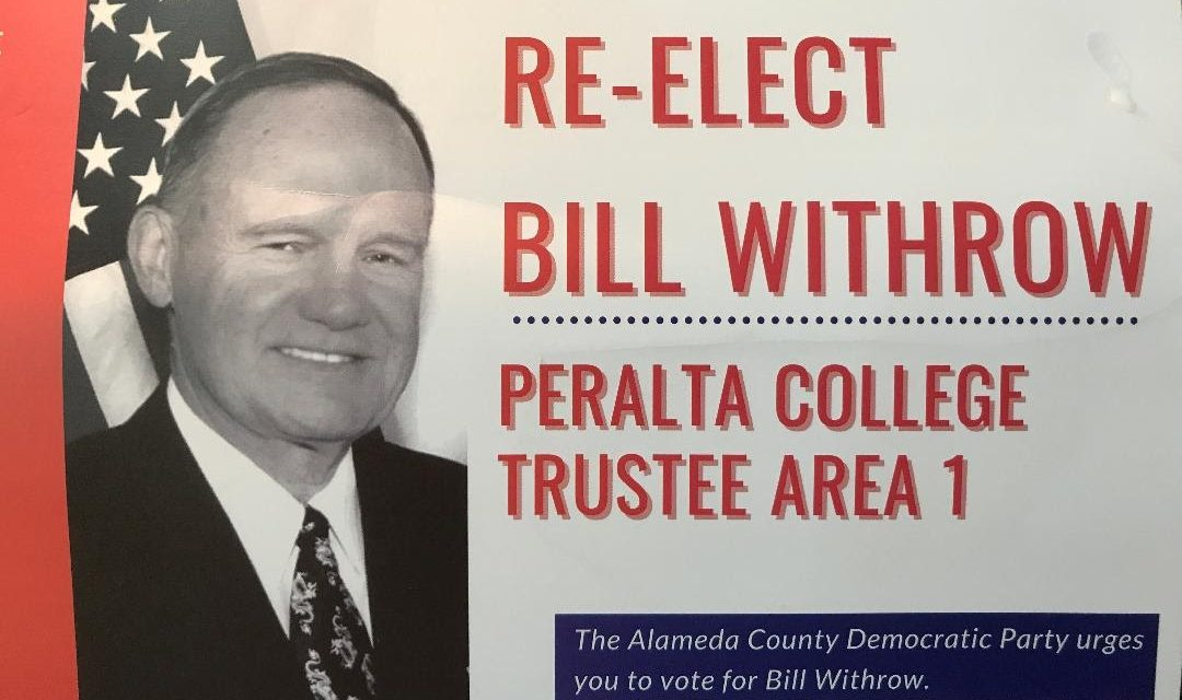 Bill Withrow wins 5th term as Area 1 trustee