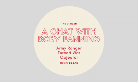 A Chat with Rory Fanning, Army Ranger Turned War Objector