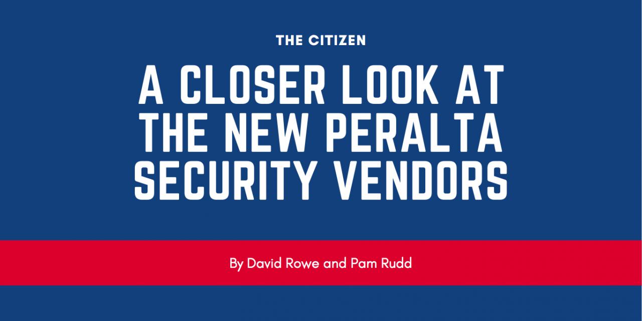 A closer look at the new Peralta security vendors
