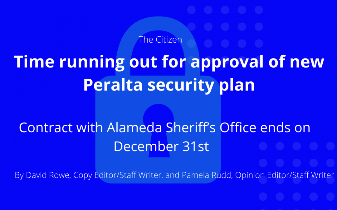 Time running out for approval of new Peralta security plan
