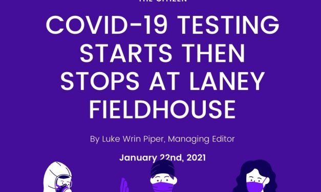 COVID-19 Testing Starts then Stops at Laney Fieldhouse