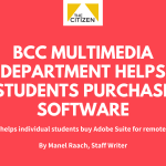 BCC Multimedia Department Helps Students Purchase Software