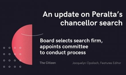 An update on Peralta's chancellor search