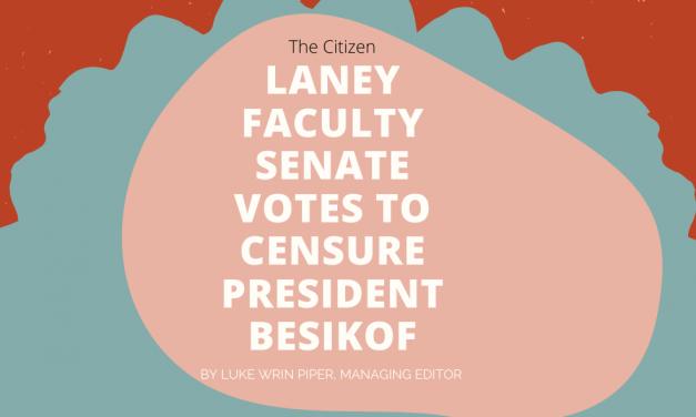 Laney Faculty Senate Votes to Censure President Besikof