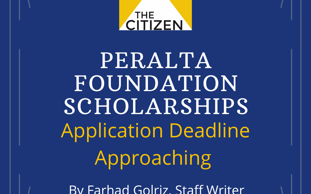 Peralta Foundation Scholarships Application Deadline Approaches