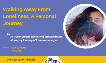 Walking Away From Loneliness, A Personal Journey