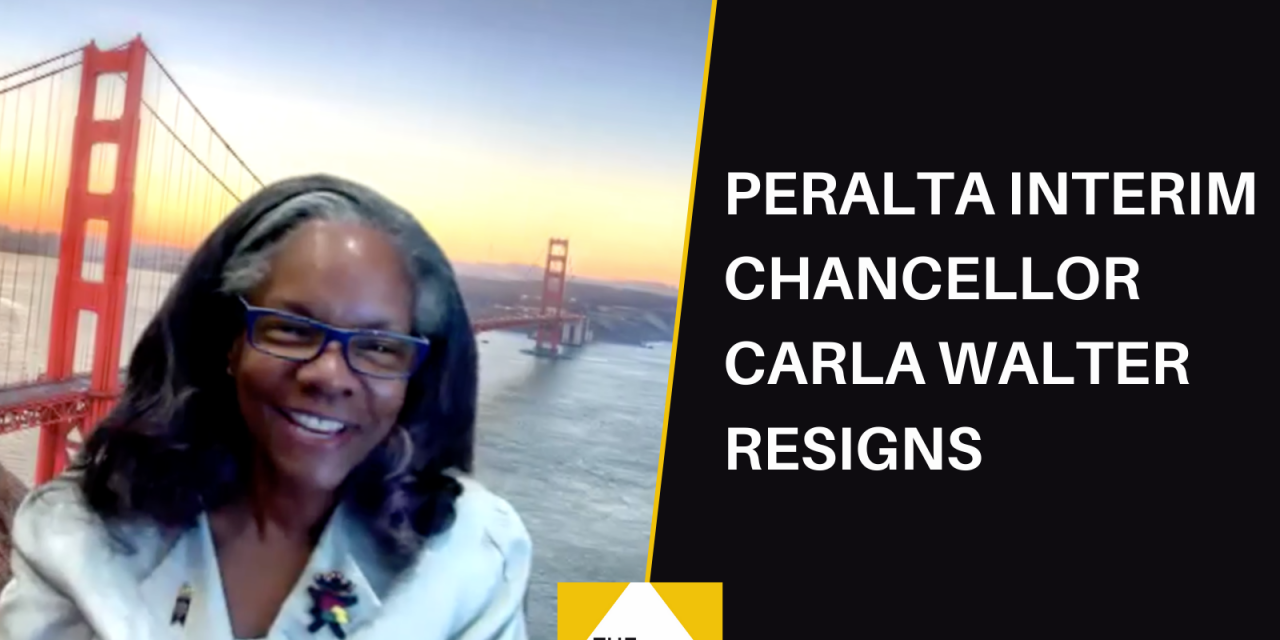 Interim Chancellor Carla Walter Resigns