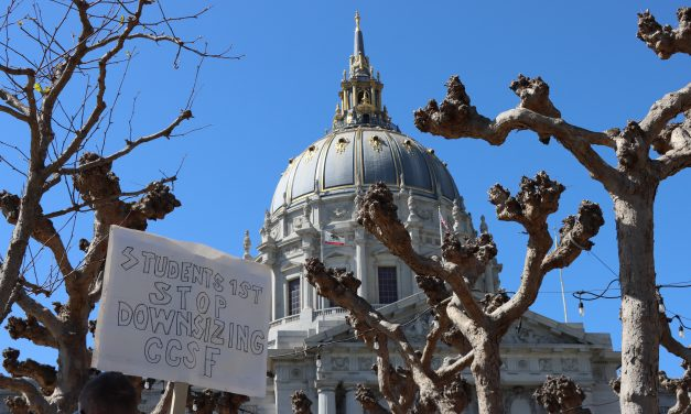 CCSF Faculty, Students Protest Pink Slips