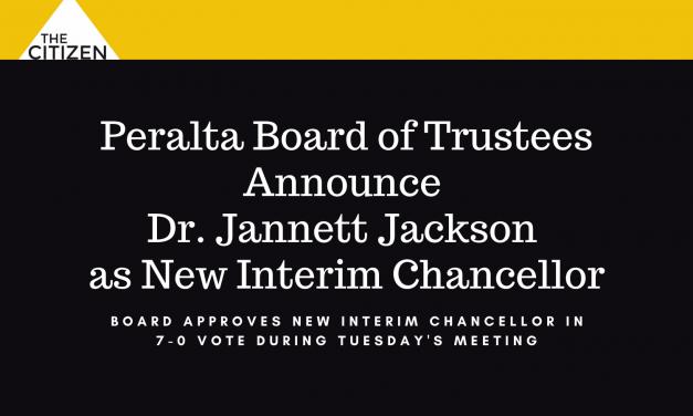 Peralta Board of Trustees Announce Dr. Jannett Jackson as New Interim Chancellor