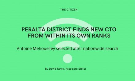 Peralta district finds new CTO from within its own ranks