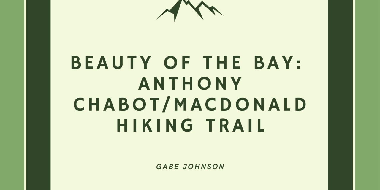 Beauty of the Bay: Anthony Chabot Regional/MacDonald Hiking Trail