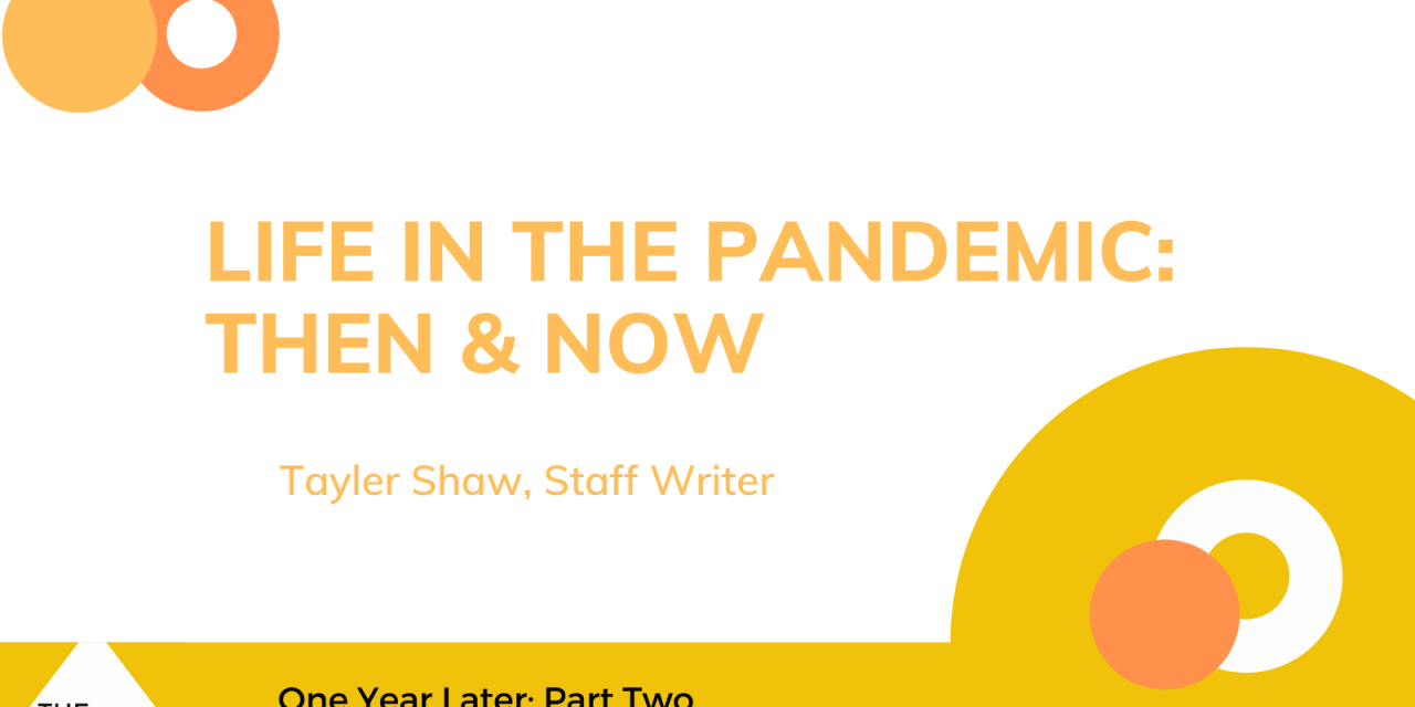 Life in the Pandemic: Then & Now