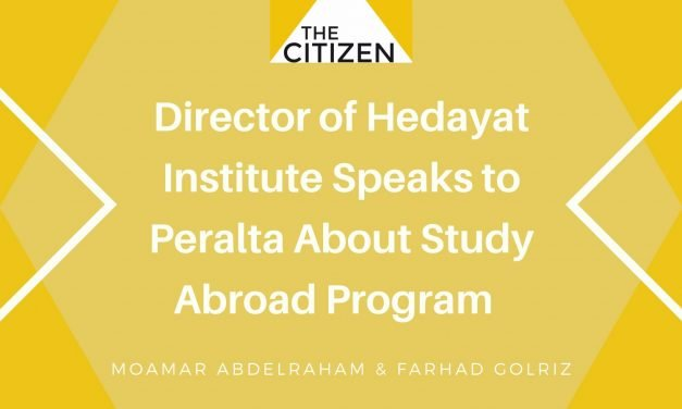 Director of Hedayat Institute Speaks to Peralta About Study Abroad Program