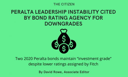 Peralta Leadership Instability Cited by Bond Rating Agency for Downgrades