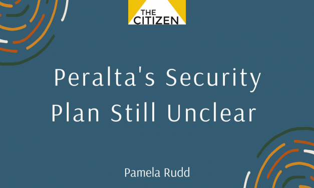 Peralta's Security Plans Still Unclear