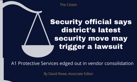 Security official says district's latest security move may trigger a lawsuit
